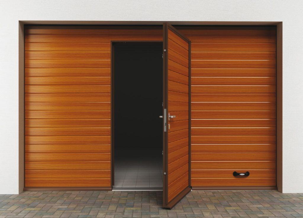 Раздвижные ворота для гаража 144
